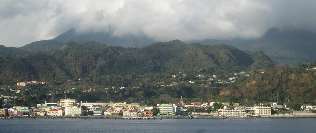 Dominica - Leaving Roseau