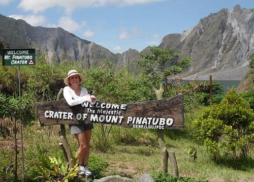 Majestic Mount Pinatubo. Indeed.