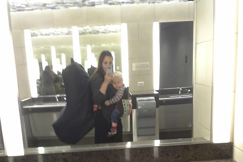 Babywearing in airports — The Bump