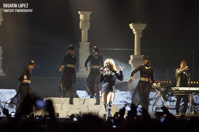 Rihanna at Palau Sant Jordi