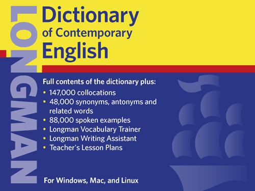 longman dictionary of contemporary english 5th edition crack