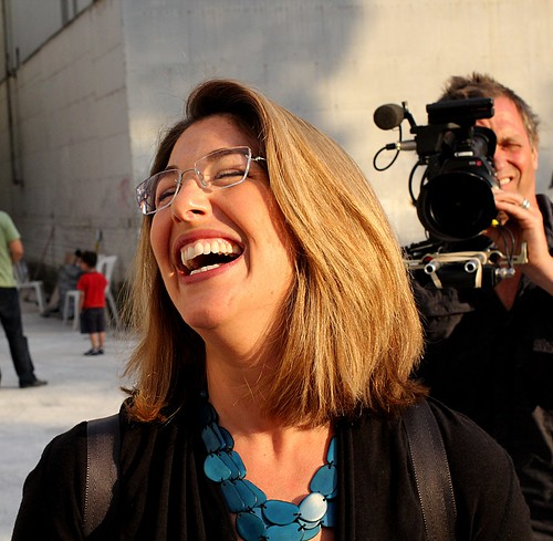 Naomi Klein in Greece by Teacher Dude's BBQ