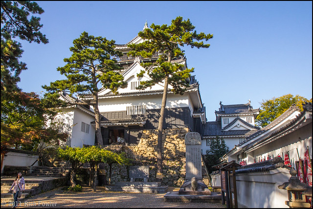 Okazaki Castle-- Main Building (Horizontal)