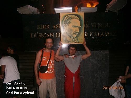 İskenderun Atatürk Anıtı Cem Akkılıç