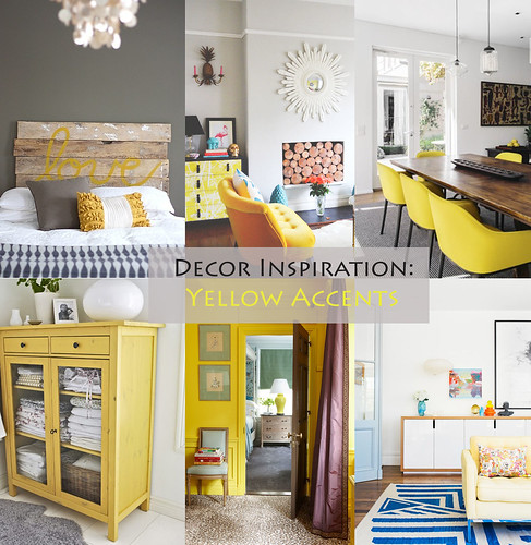 Decor Inspiration - Yellow