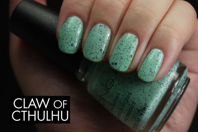 Icing by Claire's Mint Choco Chip Swatch