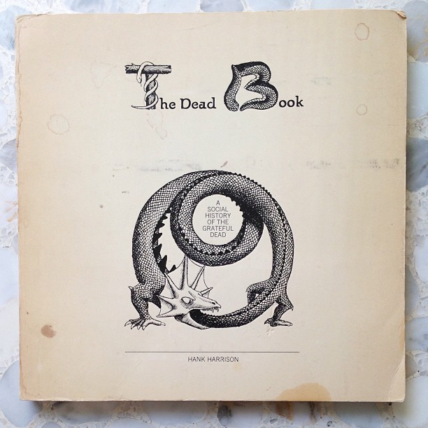 The Dead Book, 1973 #gratefuldead #california #garagesale