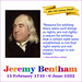 SHOULDERS UPON WHICH WE STAND: Jeremy Bentham by bostonpeter7