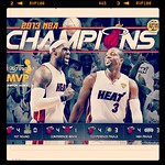 Congrats to the #miamiheat! #nbachamps2013 #nba #finals #epic #backtoback #repeat #heatnation #heatalltheway and hands down to SAS!!! It was a good series!!!