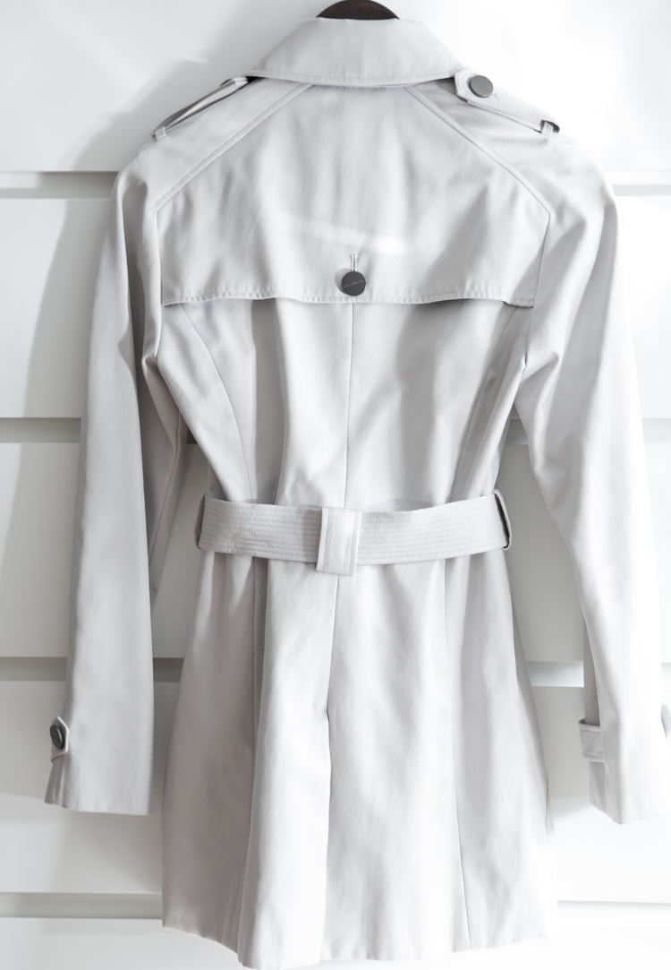 David Lawrence Classic Trench Coat