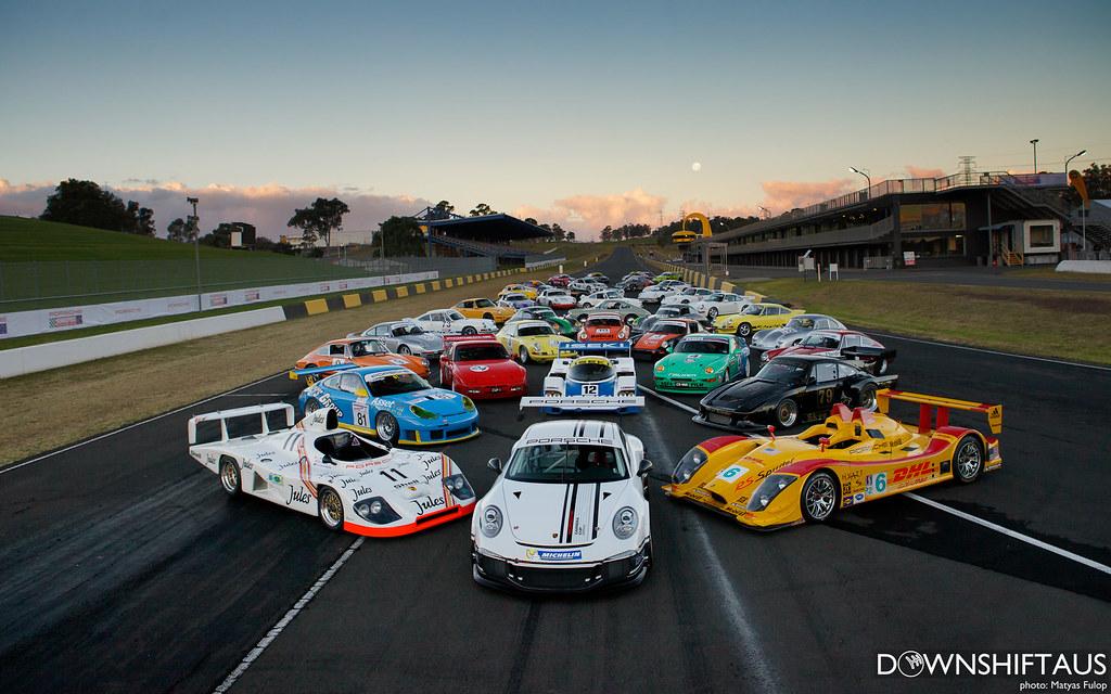 Porsche Rennsport Festival 2013 Downshift