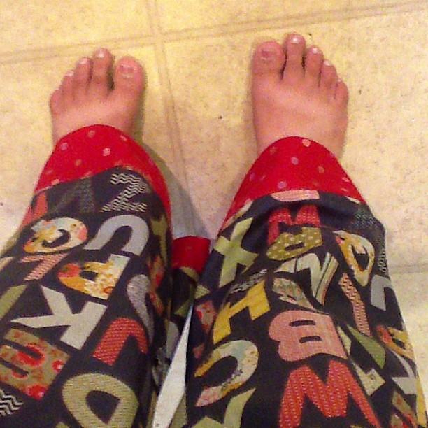 New pajamas!
