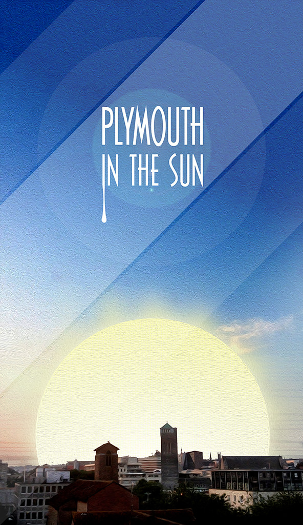 Plymouth in the Sun design