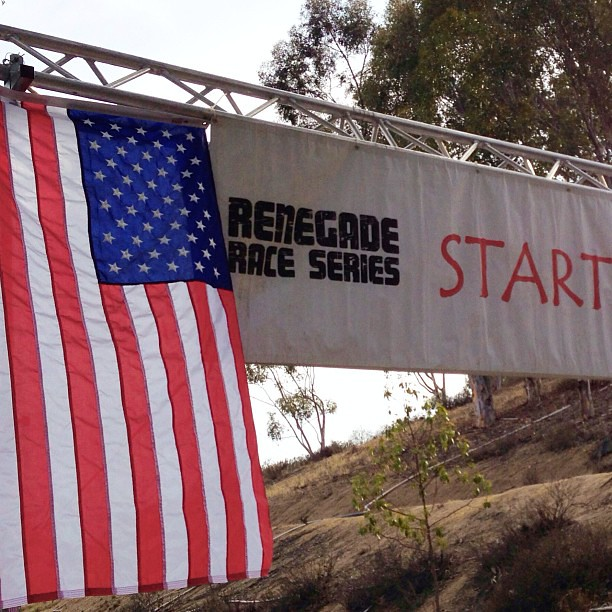 Hello There Starting Line! Did my first Trail Race ever @renegaderace Summer Trail Run Series. Totally last minute.