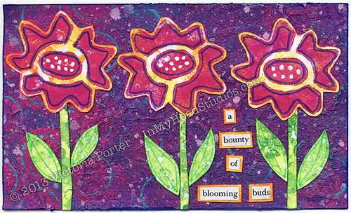 """Blooming Buds"" ICAD : 6-12-13"