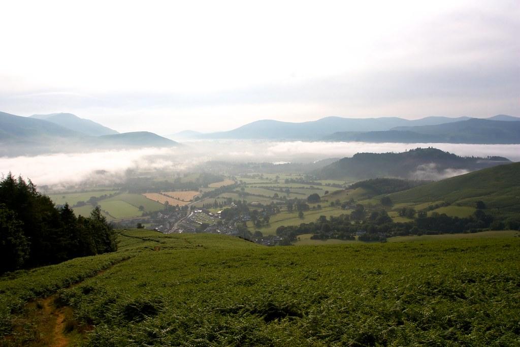 Mist beyond Braithwaite