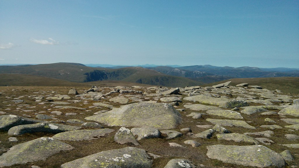 Looking across the White Mounth
