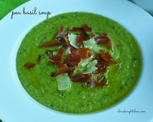 Pea Basil Soup