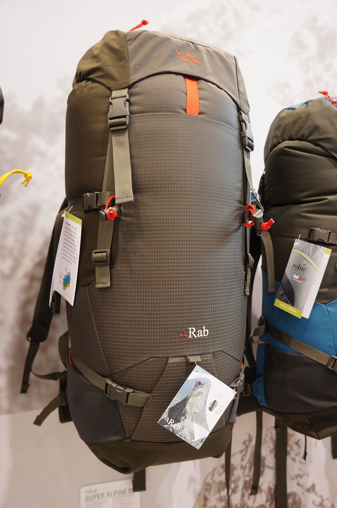 Rab Super Alpine 53 backpack