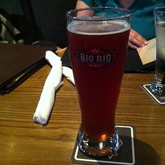 #bigrigbrew Raspberry Ale. Crisp, smooth and delicious.