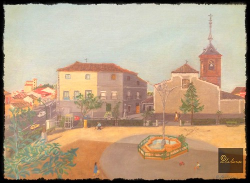 1984 Pintura plaza