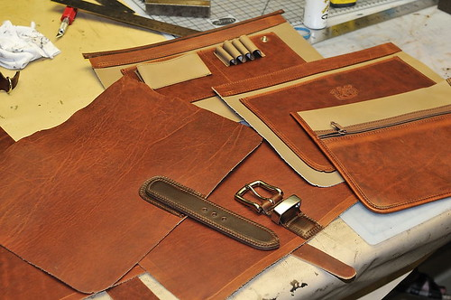 Custom Mitchell Briefcase: Completed Parts & Pieces 8/5