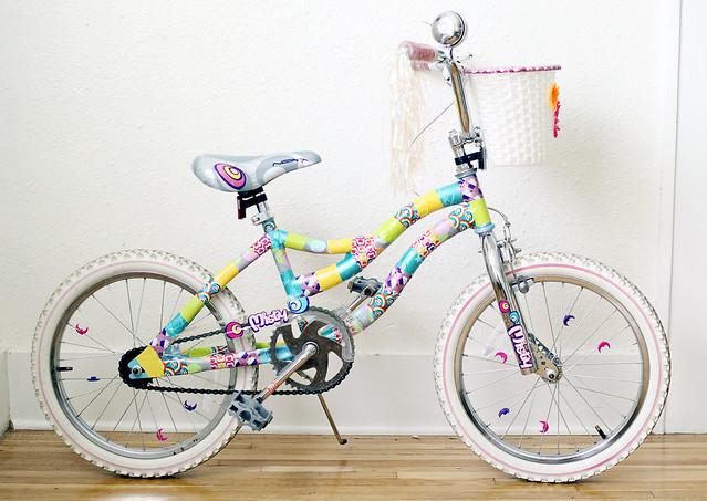 Как украсить велосипед на конкурс для девочки