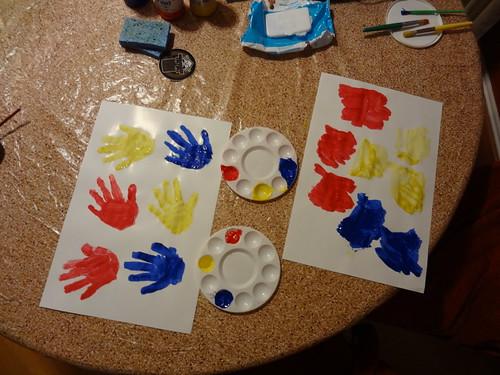 Color Mix Hands
