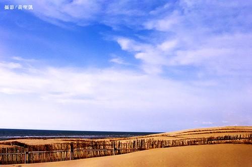 苑里沙丘海岸,黃聖凱攝。