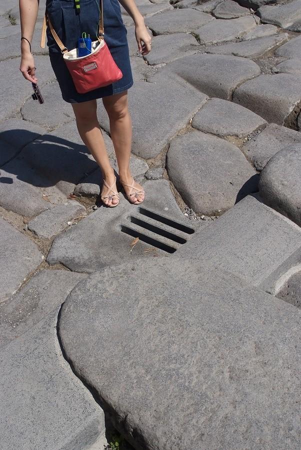 Pompei. Italy. August 2013