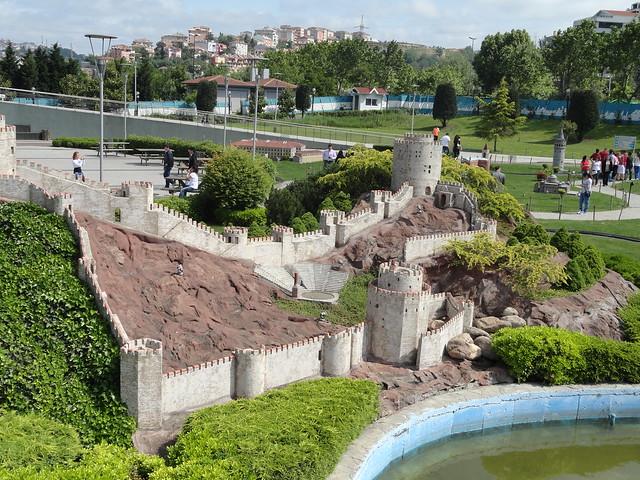 Miniaturk in Istanbul, Turkey - The Maquette park Miniatürk