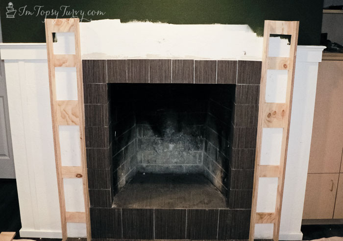 build-mantel-frame