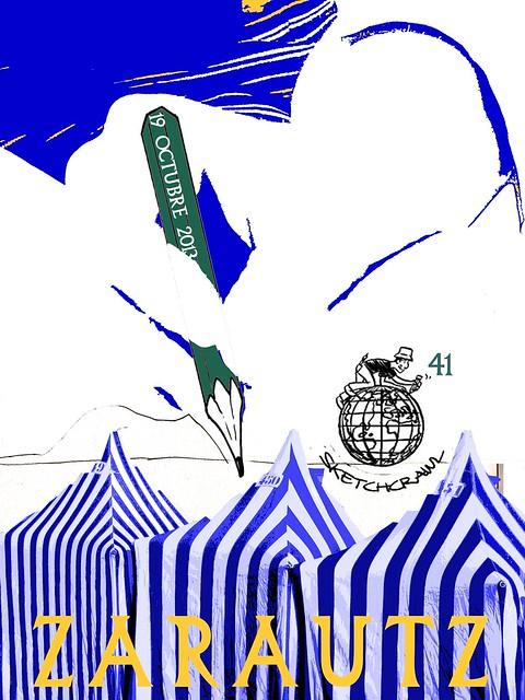 41th SketchCrawl Zarautz
