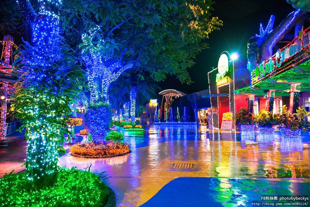 2013.Oct 夜。麗寶樂園