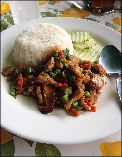 Pad Kaprow vegetarian style