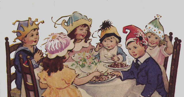 The Children's Party Book banner
