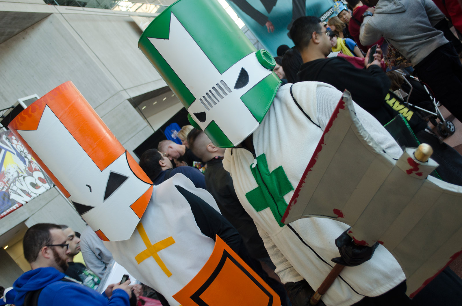 Castle Crashers Cosplay