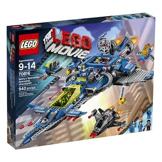 The LEGO Movie 70816 Front