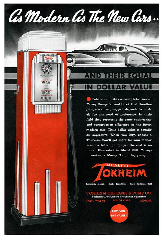 Tokheim Oil Tank and Pump Co. - 1936