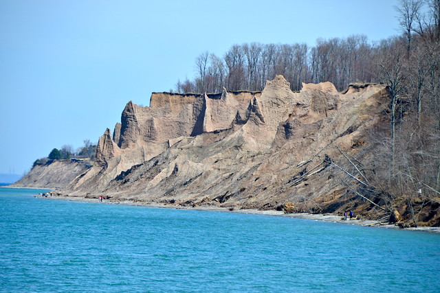 Chimney Bluffs on Lake Ontario