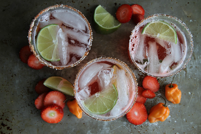 Strawberry Habanero Margarita