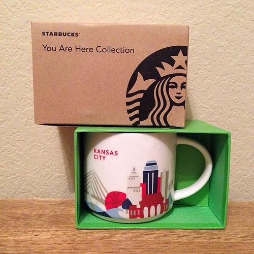 125:365 A new #starbucks mug. Thanks @plumpatchwork !