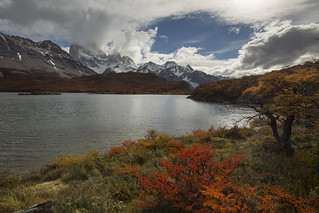 Laguna Capri and Cerro Fitz Roy