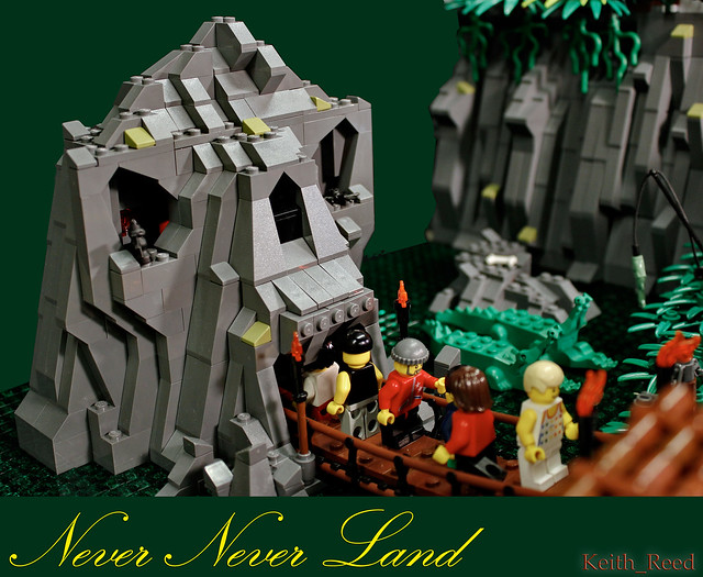 Never Never Land Skull Rock