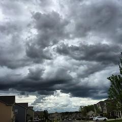 Threatening #skies. #clouds
