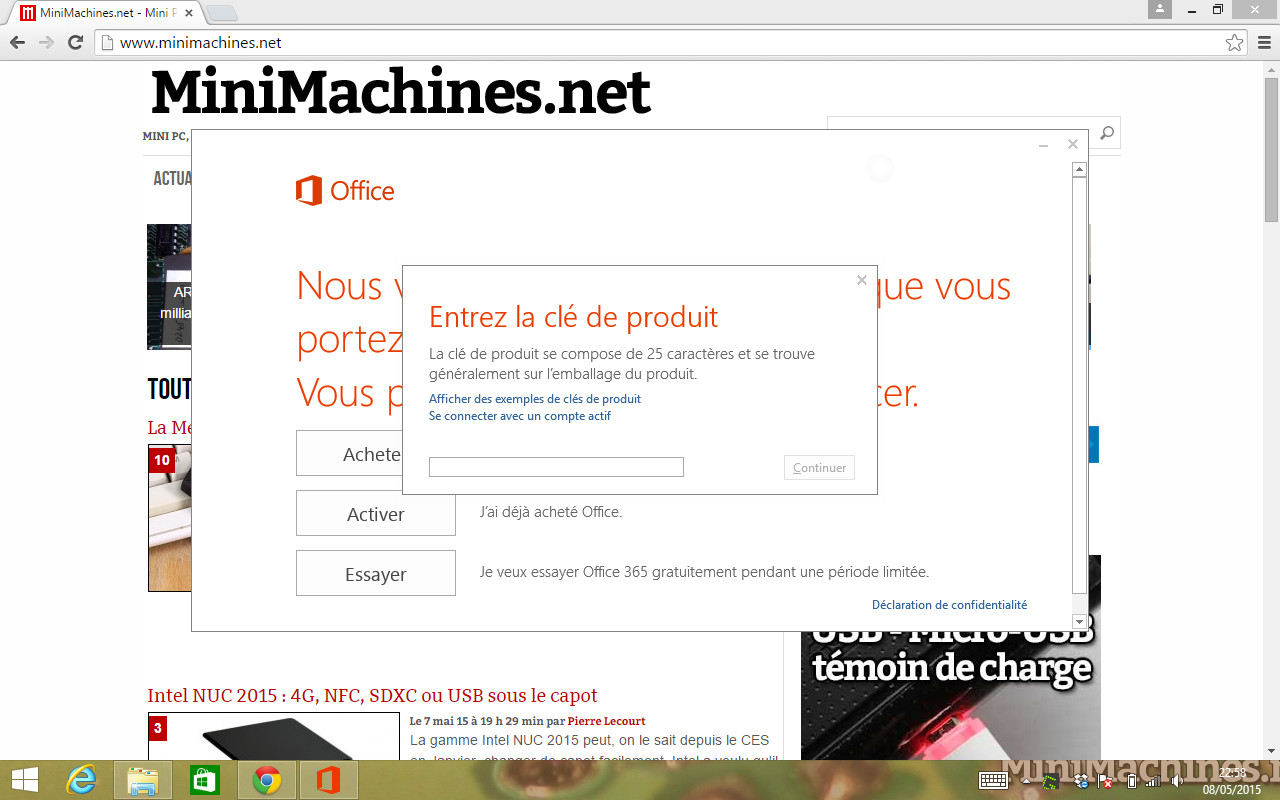 Comment activer office 365 sans entrer de cl produit - Activation office 2013 sans telephone ...
