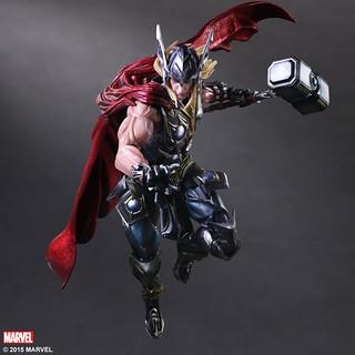 Play Arts 改【雷神索爾】Thor 變體版 Marvel Universe