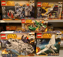 New SW Sets At The Lego Store