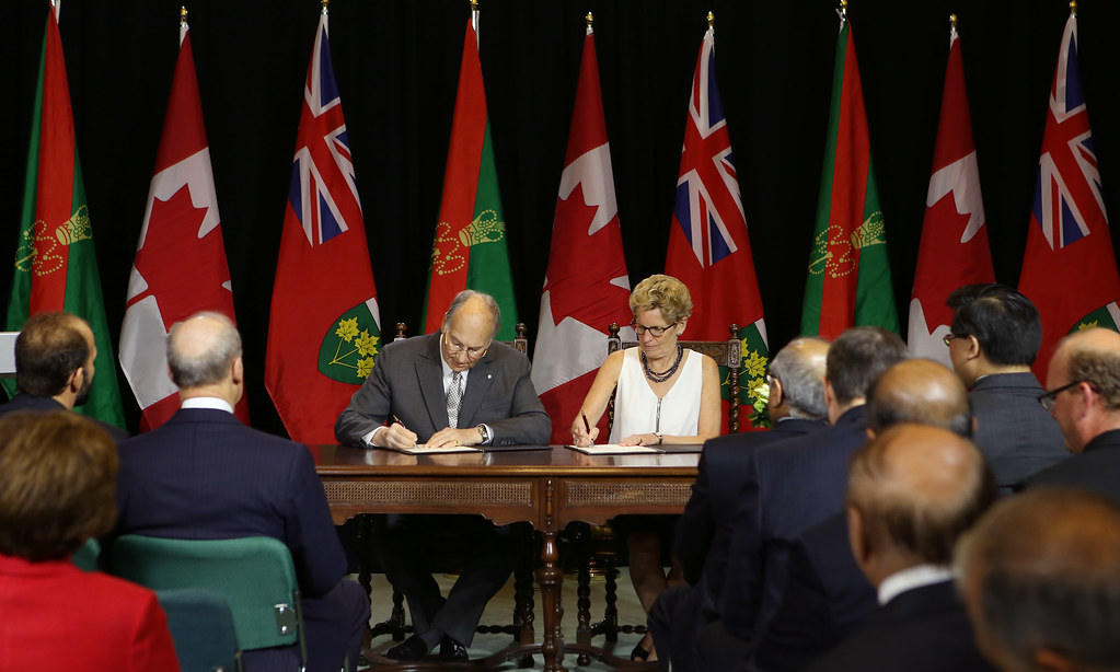View photos from Ontario Signs Agreement of Cooperation with the Ismaili Imamat  on our Flickr feed
