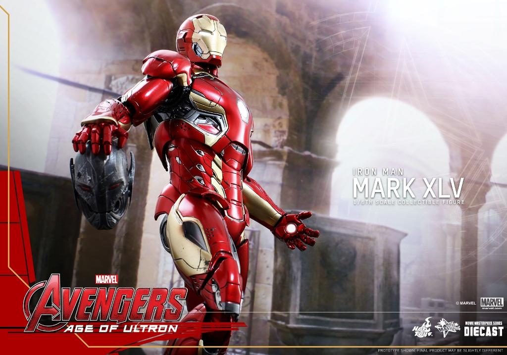 【官圖、販售資訊更新】Hot Toys – MMS300D11 – 復仇者聯盟2:奧創紀元【馬克45】1/6 比例 Mark XLV